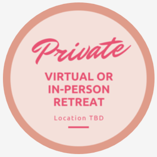 private virtual retreat logo